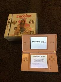 Pink DS lite bundle + 2 games