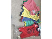 Baby boys 0-3 month Bundle all brand new next mothercare sleepsuits Dungarees clothes