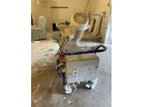 M-Tec Mono Mix 3 Phase Plaster Machine