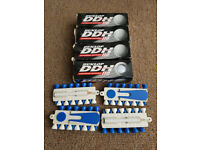 12 X DUNLOP DDH 110 EXPLOSIVE DISTANCE GOLF BALLS WITH 48 TEES-NEW