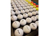100 mixed golf balls a grade