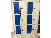 Combination Lockers (Blue & Grey)