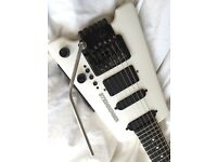1997 Steinberger GL4T Guitar in WHITE