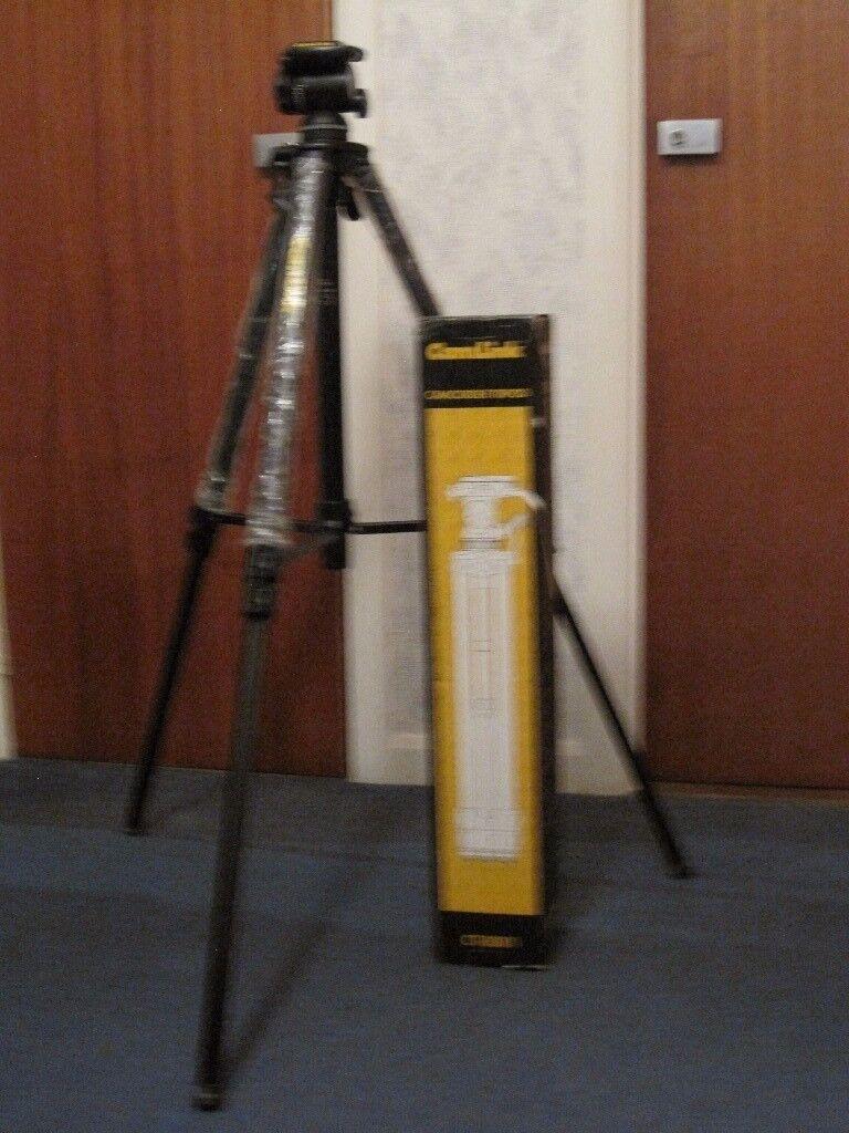 CAM LINK CT-8001 VINTAGE CAMCORDER TRIPOD - HARDLY EVER USED