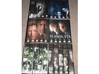 X-Files Series Season 1, 2, 4, 6, 8 and 9 on VHS tapes - can post