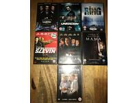 DVD bundle x 7 - Goodfellas, The Ring, Mama...,