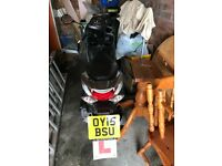 HONDA VISION MOPED 50cc, just had 1st mot so comes with 1yr Mot 7500 miles lady owner since new ,
