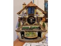Collectible clock the flying Scotsman