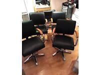 4x hydraulic Salon Hair Dressers Chair