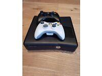 Used Xbox 360 S - 250gb - Black w/ 2 remote controls