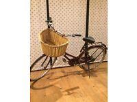 Vintage ladies real classic bike & basket