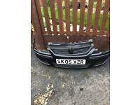 Front bumper and grill. For corsa c. Good condition