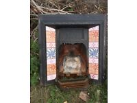 Victorian Tiled Fire Surround
