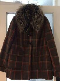 Winter coat size 16 from George