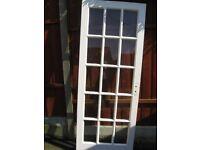 15 GLASS PANEL INTERIOR DOOR