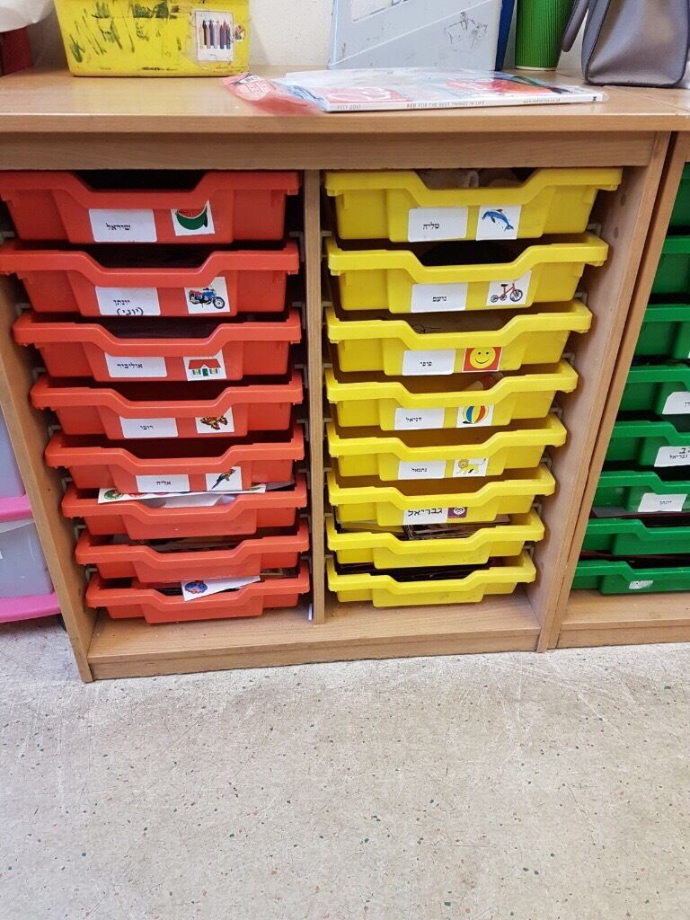 Unit Of Children S Classroom Drawers In Hendon London