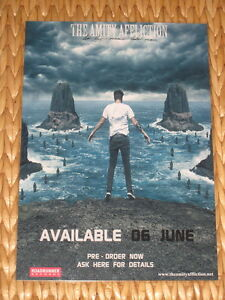 THE AMITY AFFLICTION - LET THE OCEAN TAKE ME  -  LAMINATED PROMO POSTER