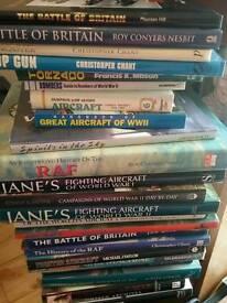 Airoplane books and world war 2 books