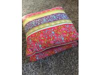 John Lewis pillow case, scatter cushion and quilted throw