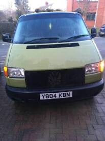 VW T4 TRANSPORTER RATTY PROJECT