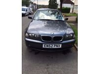 BMW 320i, Dual Fuel - LPG, 2003, Long MOT.