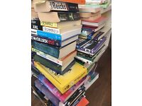 Job lot of around 60 books, boxed and ready to go
