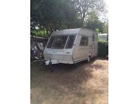 2 Berth Abbey Solitaire touring caravan