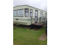 Caravan to hire rent let ..3 bed on Kingfisher Caravan Park Ingoldmells Skegness.. Oct 5th - 9th