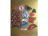 Patches sew on