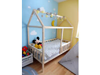 Children bed house with frame / House bed - Without mattress - Any dimensions !!