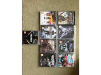 PS3 Slim with 9 games & 2 Controllers
