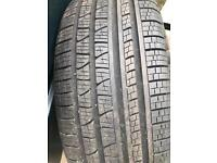 Alloy and tyre for Range Rover Evoque