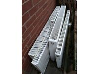 Used central heating radiators