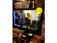 42 inch samsung flat screen tv with no remote in nice conditions only 105£