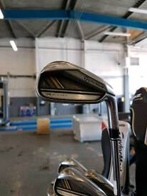 4-sw taylormade rocketbladz in mint condition with upgrade grips