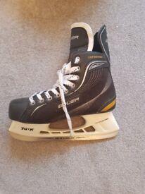 Size 9.5 Bauer ice skates
