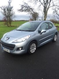 2011 Peugoet 207, Full years MOT, just had clutch and timmimg belt, cheap car.