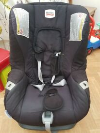 Britax car seat from birth, reclinable for comfort sleeping