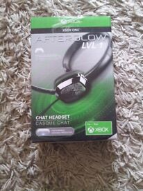 XBOX ONE AFTERGLOW LVL 1CHAT HEADSET BRAND NEW BOXED
