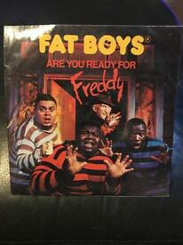 "Fat Boys - Are You Ready For Freddy 7"" Vinyl"