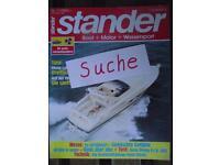 Stander, Bootszeitschrift Jahrgänge vor 1968+Einzelhefte gesucht Sachsen - Radebeul Vorschau