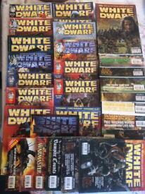 31 white dwarf games workshop magazines
