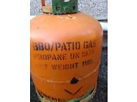 FULL BBQ / PATIO GAS BOTTLE COST £40 ONLY £20 FOR QUICK SALE