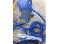 Pond vacuum system