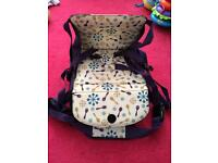 Travel high chair/ booster seat