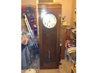 Talk casement clock
