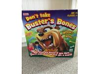 Dont take Busters bones, kids game