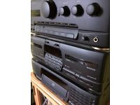 Kenwood stereo separates stack system