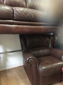 Leather quality secondhand suites choice of 18