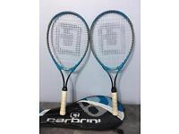 Two tennis racket, take both at only £20